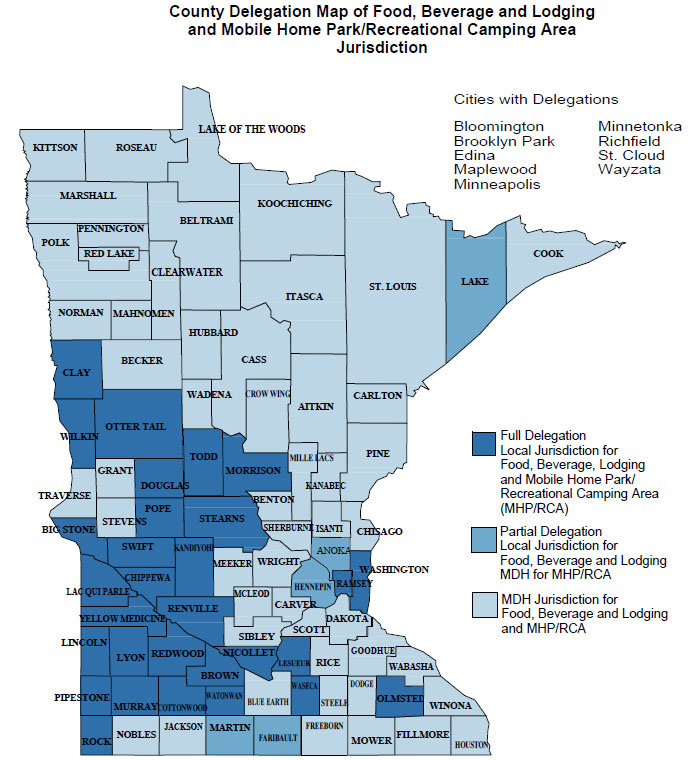 Licensing Jurisdiction: Food, Beverage and Lodging (FBL ... on va map, ne map, tn map, mt map, nc map, mi map, wy map, nv map, wi map, iowa map, western wisconsin map, nh map, tx map, minneapolis map, usa map, ks map, wv map, vt map, twin cities map, nj map,