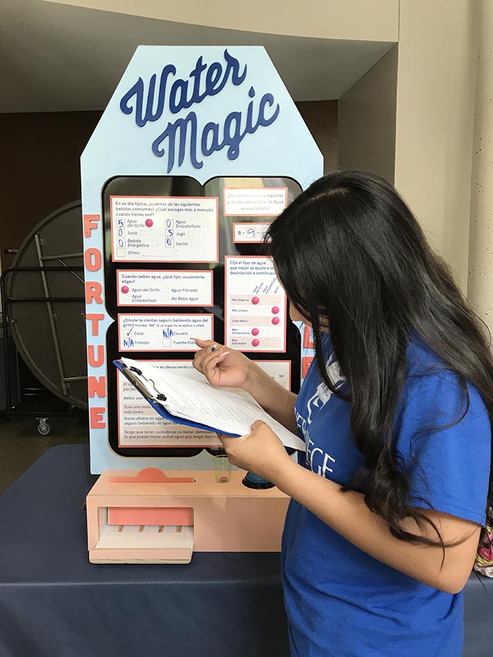 Water Magic Display for ReThink Your Drink