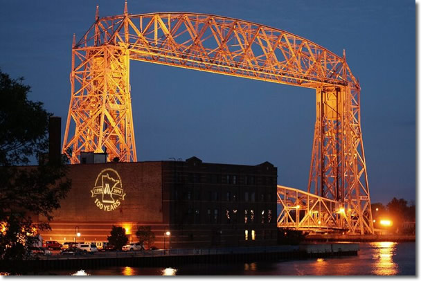 Duluth, the site of the Minnesota AWWA conference