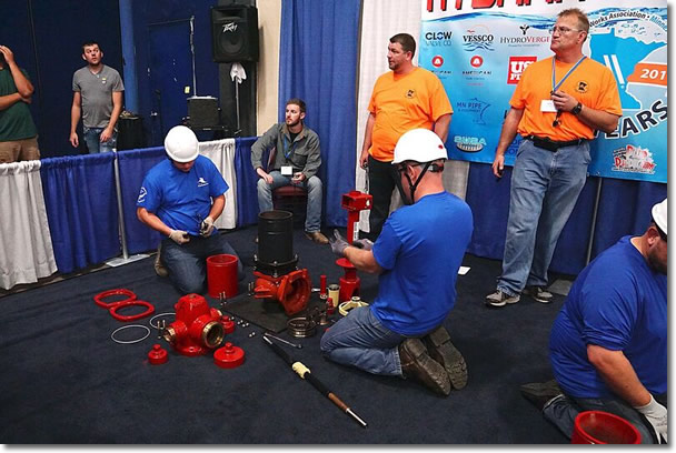 Hydrant hysteria at the Minnesota AWWA conference