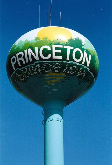 Princeton water tower