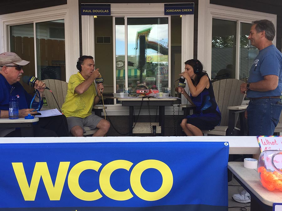 Taste Test at WCCO Radio at the State Fair