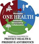 Minnesota One Health Antibiotic Stweardship Collaborative Graphic