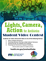 Lights, Camera, Action for Antibiotics Video Contest