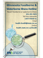 Foodborne Illness Hotline Poster