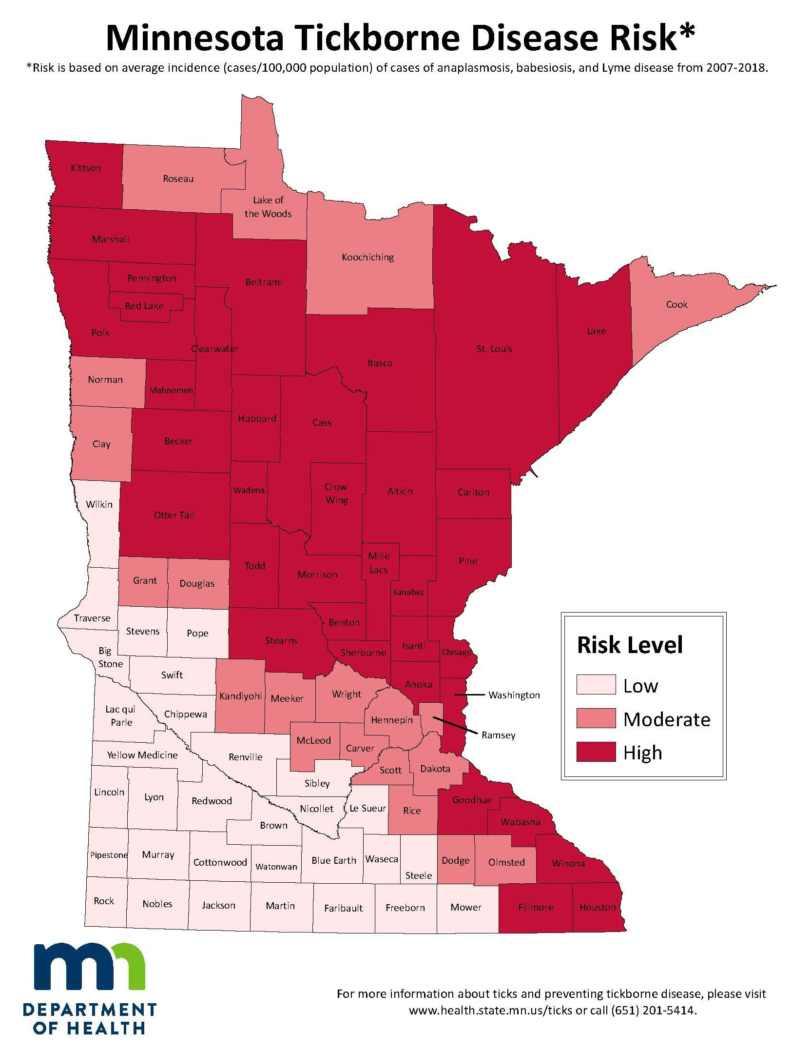 Lyme Disease in Minnesota: Lyme Disease Areas of Highest ... on wound map, vegetation map, baldness map, human microbiome map, ciguatera map, ebola in us map, addiction map, infection map, dilation map, prevalence map, actuary map, health literacy map, hiv map, membrane map, pathogen map, climate map, feces map, flowering map, acute renal failure concept map, heredity map,