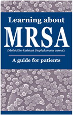 image of the Learning about MRSA booklet.
