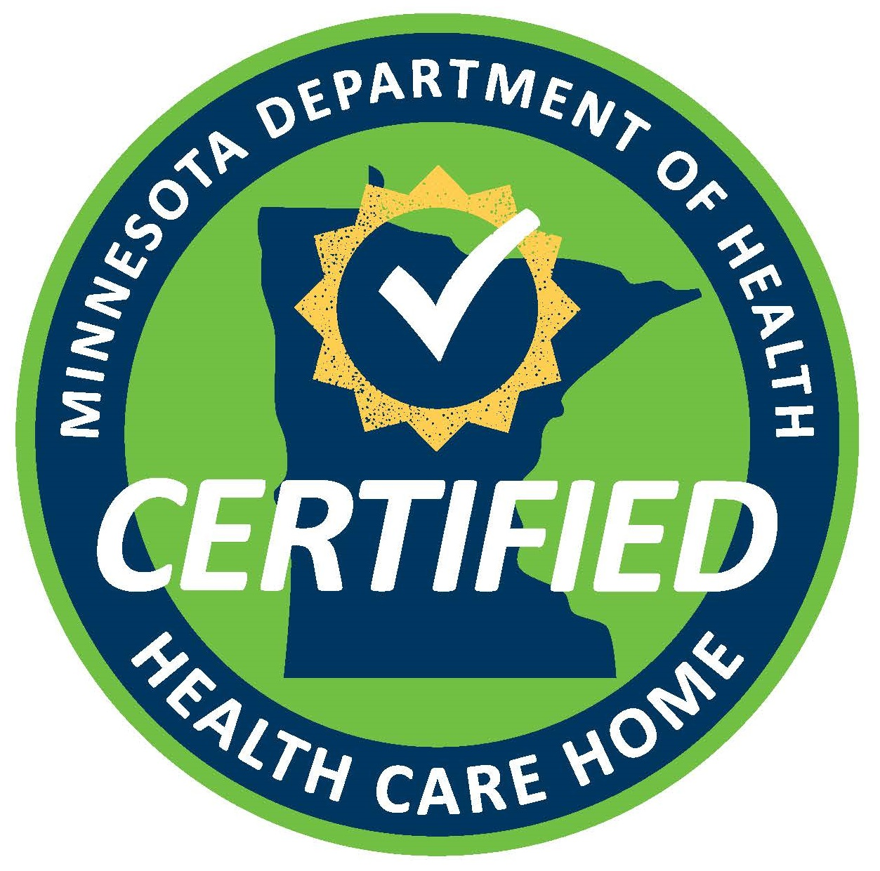Health Care Homes seal