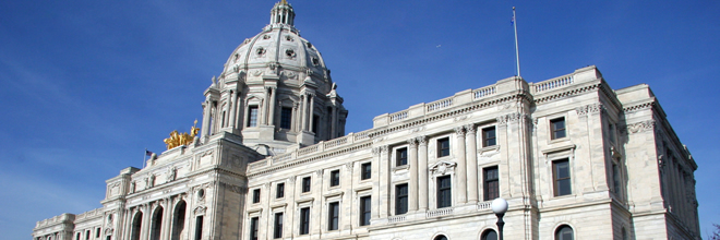 Image of Minnesota capitol courtesy of http://commons.wikimedia.org/wiki/File:MinnesotaCapitol.JPG