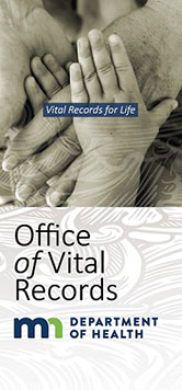 About the Office of Vital Records - Minnesota Dept  of Health